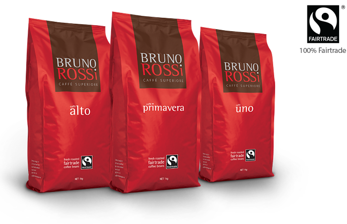 Bruno Rossi Caffe Premium Beans Coffee And Equip